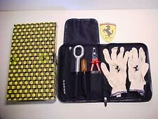 Ferrari F430 Tool Kit_Pouch_Pliers_Tow Hook_Screwdriver_Fuses_Gloves_Scuderia OE