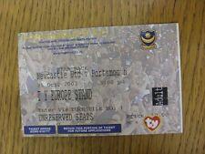 25/10/2003 Ticket: At Portsmouth, Newcastle United v Portsmouth [Beam Back] (fol
