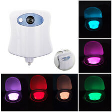 8Colors LED Light Bowl Toilet Night Light Glow Bowl Illumibowl Toilet Potty Lamp