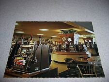 1960s ST GEORGE'S LEAGUES CLUB SLOT MACHINES SYDNEY AUSTRALIA VTG POSTCARD