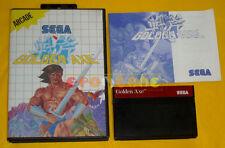 GOLDEN AXE Sega Master System Versione Italiana »»»»» COMPLETO