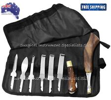 Farrier Hoof Knife Kit Set Roll UP Wallet Premium Range Farrier Hoof Tools NEW