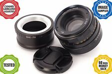 HELIOS-44M 2/58 m42 USSR lens *Fuji X adapted**FINELY ADJUSTED!*