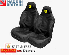FERRARI CAR SEAT COVERS PROTECTORS SPORTS BUCKET HEAVYWEIGHT - 458 SPIDER