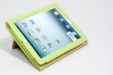 Cover iPad 2/3/4 in Ecopelle Cover iPad2, iPad3, iPad4 Custodia Protettiva Verde