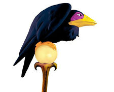 MALEFICENT Classic Staff DISNEY Sleeping Beauty Crow Costume Accessory Raven NEW