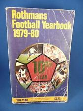 ROTHMANS FOOTBALL YEARBOOK 1979-80  10TH YEAR SOFTBACK