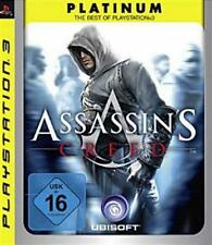 PLAYSTATION 3 Assassins Creed 1 PLATINUM-Essential usati/Top Condizione