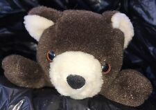"Steven Smith Animals dark brown Stuffed Plush Soft Cuddly Teddy Bear 6"" Beanie"