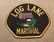 CO Log Lane Colorado Marshal Patch