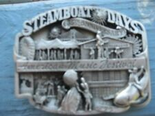 Iowa Steamboat Days 35th anniversary 1962 to 1967 American music festival buckle