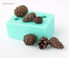 Silicone Mold polymer clay cold porcelain fimo sweets Сones