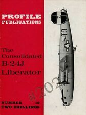 Consolidated B-24J LIBERATOR - Profile Publications No 19 - 1965 Scale Drawings