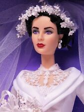 ELIZABETH TAYLOR in FATHER OF THE BRIDE Celebrity Barbie Collector_26836_NRFB