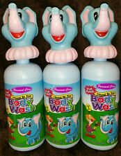 (3) Personal Care Fruit Punch Head To Toe Body Wash ~ For Kids 3+ ~ 11 oz Each