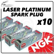 10x NGK SPARK PLUGS PART NUMBER PMR7A STOCK NO. 4259 NUOVO PLATINO sparkplugs