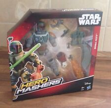STAR WARS HERO MASHERS - BOBBA FETT Figure MASHER MASH UP CHARACTER NEW & BOXED