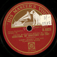 Tommy Dorsey clambake seven Chinatown, My Chinatown/the sheik of Araby x2207