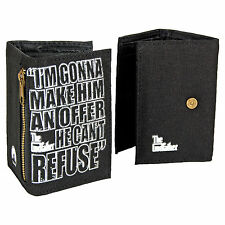 NEW The Godfather Retro Film Wallet Cool Movie Funky Gangster Brando Man Gift