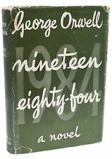 Nineteen Eighty Four George Orwell First Edition 1st Printing 1984 Rare Book