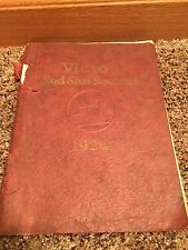 Hey Vintage Rca 1924 Record Catalog Victor Red Seal