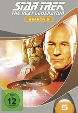 STAR TREK - THE NEXT GENERATION, SEASON 5 MB  7 DVD NEU SIR PATRICK STEWART/+