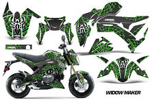AMR Racing Kawasaki Z125 PRO Graphic Kit Dirt Bike Decals MX Wrap 2017 WIDOW GRN