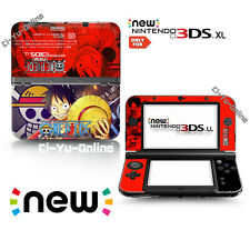 [new 3DS XL] One Piece #5 Monkey D. Luffy VINYL SKIN STICKER DECAL COVER