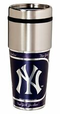 New York Yankees Stainless Steel 16Oz Travel Tumbler [NEW] Coffee Cup Mug Chrome