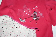 BABY GAP Skirted Tights Top & Skirt Set Poodle Shopping Set Girl Sz 18-24 Months
