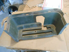 Bombardier Quest 500 4 wheeler 2002 right side foot well footwell rest