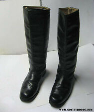 Vintage Soviet Russian Officer Riding Boots 43 USSR Uniform