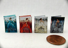 Miniature Books A SONG OF ICE AND FIRE (5) 1:12 Doll Scale Books Game of Thrones