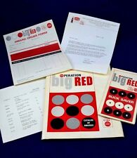 VINTAGE 1965 COCA COLA OPERATION BIG RED SALES PROMO CATALOG & PAPERS PACKET