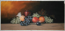 Amazing Still Life Pastel on Paperboard by Listed Artist William Henry Chandler