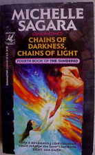 Michelle Sagara CHAINS OF DARKNESS, CHAINS OF LIGHT Sundered #4 1st 1994 Signed!