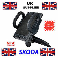 Skoda Car Mobile Phone iphone or GPS fits CD Slot Holder style 1