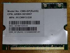 Wistron NeWeb CM9 Atheros 63mW (18dBm) Wifi 802.11a/b/g MiniPCI 2.4GHz / 5GHz