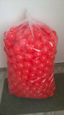 500 BRAND NEW SOFT PLAY BALLS -BALL PIT, POOL , COMMERCIAL GRADE CE - RED