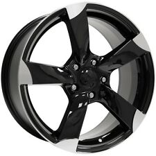 "(4) Vogue VT378 Gloss Black/Machined 18"" (5x115) Wheels - Clearance Sale!"