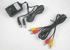 USA SELLER NES Original NES Hookup Connection Kit AC Adapter Power Cord AV Cable