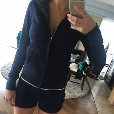 Juicy Couture, Navy, Tracksuit, Track Jacket, Shorts, P, Set, Nautical, Gold