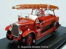 1934 LEYLAND FK-1 FIRE ENGINE 1/43RD SCALE UNIVERSAL PRINTING VERSION R0154X{:}