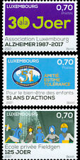 Luxemburg / Luxembourg - Postfris/MNH - Complete set Commemoratives 2017