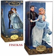 Disney Fairytale Designer Collection LE Cinderella & Prince Charming Doll NEW