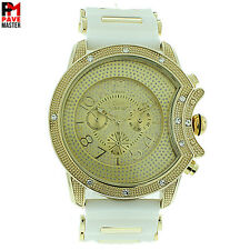 MENS ICED OUT  ICE NATION /CAPTAIN BLING WITH BULLET BAND #1011 BRAND NEW