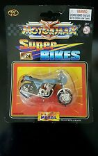 MotorMax Super Bikes Blue Kawasaki 1000 New in Package