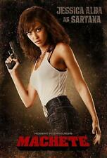 MACHETE FILMPOSTER JESSICA ALBA AS SARTANA