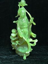 High Quality Jade Kwanyin / Guanyin with Kid LS16