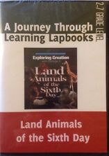 Apologia Exploring Creation with Zoology 3 (Land Animals) Lapbook PDF on CD NEW!